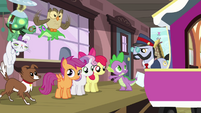 Spike -is three ponies enough-- S03E11