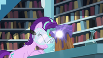 Starlight using magic on wood and potion S7E1