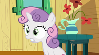 Sweetie Belle in complete disbelief S6E19
