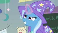 Trixie channeling teleportation magic S9E20
