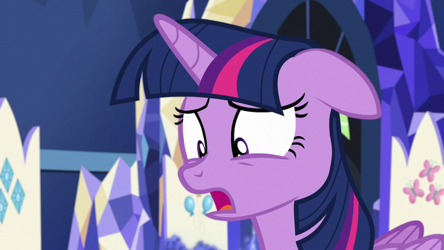 """File:Twilight Sparkle """"you're laughing at me"""" S7E1.png"""