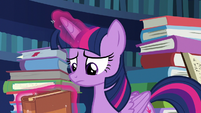 Twilight Sparkle listening to Starlight S7E26