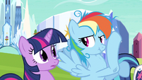 Twilight whoa that face! S3E12