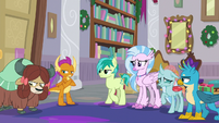 Young Six fear being stuck at school S8E16