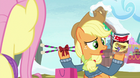 "Applejack ""unenchanted, I think"" MLPBGE"