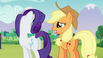 Applejack --Pinkie's right, Rarity!-- S5E24