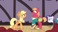 Applejack -you got some 'splainin' to do- S4E14