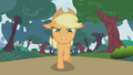 Applejack chasing bunnies S01E04.png