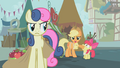 Applejack covers Apple Bloom's mouth S1E12.png