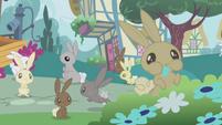 Bunnies overrun Ponyville S1E04