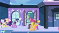 Caramel and Cherry Berry at Empire station S03E12.png