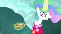 "Celestia ""I hope you're enjoying yourself"" S9E13"