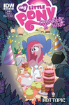 Comic issue 28 Hot Topic cover