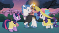 Fancypants and Twilight speaking S2E9.png