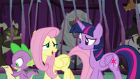 "Fluttershy ""I don't think it's magical"" S8E26"