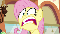Fluttershy --no way that we can get in the zone-- S6E18