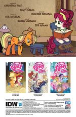 Friends Forever issue 33 credits page