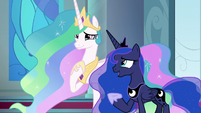 "Luna ""we've cleared out our royal suites"" S9E24"