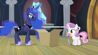 "Luna ""you can even improve it"" S4E19"