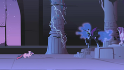 "Nightmare Moon ""now you will never see your princess"" S01E02"