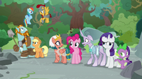 Pillars of Equestria in complete shock S7E26