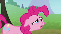 Pinkie's shock turning into disappointment S8E3