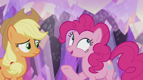 Pinkie Pie -what's more fun than getting a present-- S5E20
