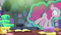 Pinkie Pie floating out of the kitchen S6E21.png