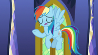 "Rainbow Dash ""I wouldn't say scared"" S9E26"