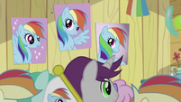Rainbow Dash Fan Club Posters S2E8