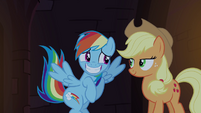 Rainbow Dash embarrassed grin S4E03