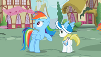 Rainbow Dash hear scream S2E8