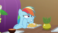 Rainbow Dash looking defeated S8E5