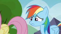 Rainbow Dash nervous S4E22
