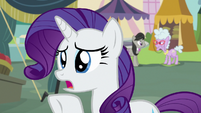 "Rarity ""I know you're swamped"" S7E19"
