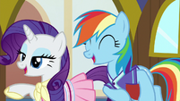 Rarity and Dash suggest different activities again S8E17