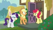 S07E09 Applejack zszokowana słowami Strawberry Sunrise