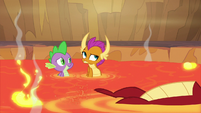 Smolder rolls her eyes at Garble S9E9