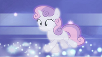 Sweetie Belle running after Luna S4E19