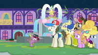 "Tourist Pony ""the dragons at this school"" S8E11"