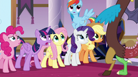 "Twilight ""what are you doing here?!"" S9E2"