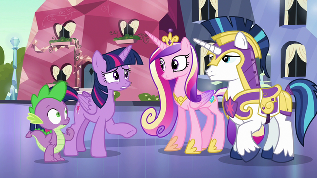 "File:Twilight Sparkle ""checking everypony's identity"" S6E16.png"