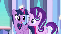Twilight Sparkle --right about what--- S6E16