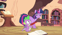 Twilight Sparkle closing her door S4E23