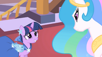 Twilight and Celestia --we have so much to catch up on-- S01E26