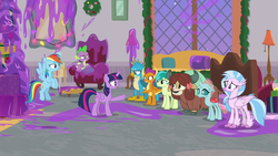 Twilight tells Young Six to clean up the mess S8E16