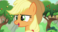 "Applejack ""now we're gettin' somewhere"" S8E23"