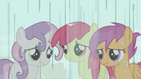 CMC being rained on S2E23