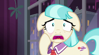 Coco Pommel overcome with anxiety S5E16
