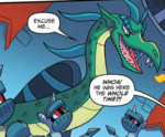 Comic issue 53 Unnamed dragon